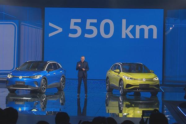 纯电动ID.4迎来中国首秀 大众汽车迈入出行新时代
