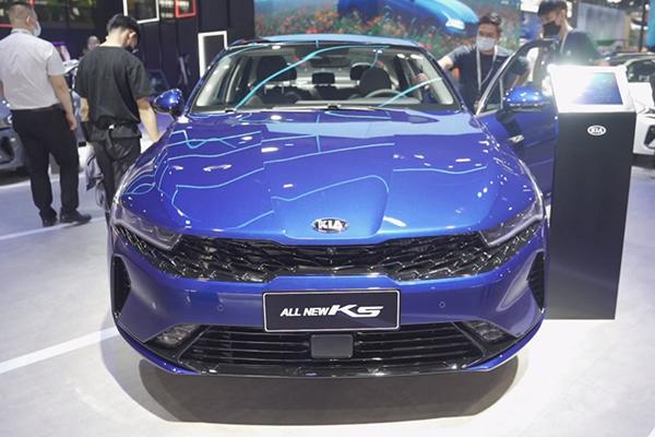 以全新K5凯酷为首,起亚全阵容亮相2020广州车展-汽车视频